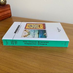 Reader's Digest Condensed Large Print Books Accents - Digest LARGE / Charm Bracelet & Inspector Chopra